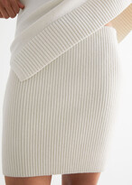 Thumbnail for your product : And other stories Ribbed Mini Skirt