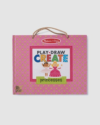 Melissa & Doug Pink Activity Kits - Natural Play - Play Draw Create - Princesses - Size One Size at The Iconic