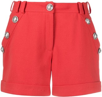 Balmain Decorative Buttons Shorts