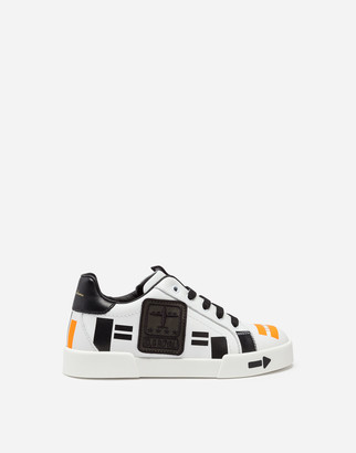 Dolce & Gabbana Portofino Light Sneakers With Patch