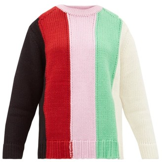 JoosTricot Striped Wool-blend Sweater - Womens - Multi