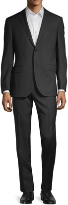 Corneliani Academy Standard-Fit Herringbone Suit