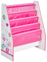 Flower and Birds Kids Sling Bookcase - Bedroom Storage by HelloHome