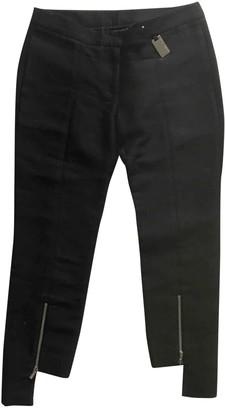 Thomas Wylde Black Silk Trousers for Women