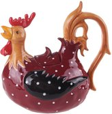 Blue Sky Ceramic Rooster Teapot