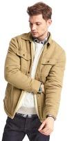 Gap Sherpa-lined shirt jacket