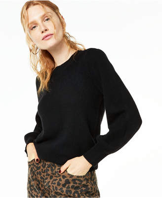 Charter Club Pure Cashmere Balloon-Sleeve Sweater, Regular & Petite Sizes