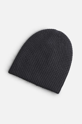 White + Warren 100% Cashmere Thermal Beanie Cap
