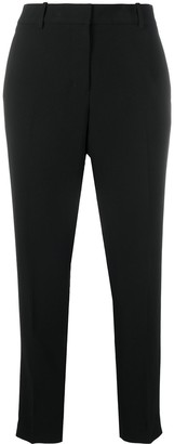 DKNY Cropped Slim-Cut Trousers