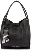 Proenza Schouler Medium Soft Leather Tote Bag, Black