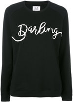 Zoe Karssen Darling sweatshirt - women - Cotton - XS