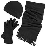 Trespass Womens/Ladies Quirk 3 Piece Winter Scarf Hat And Glove Set