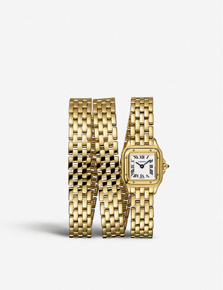 Cartier WGPN0012 Panthere De 18ct yellow-gold watch
