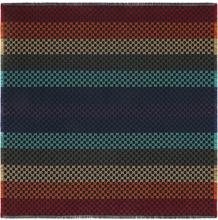 Thumbnail for your product : Gucci GG jacquard shawl