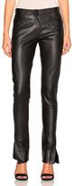 Loewe Leather Trousers in Black.
