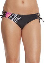 Fox Refraction Lace Up Side Tie Bikini Bottom 8158100