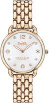 Coach 14502783 Delancey Slim rose gold-plated watch