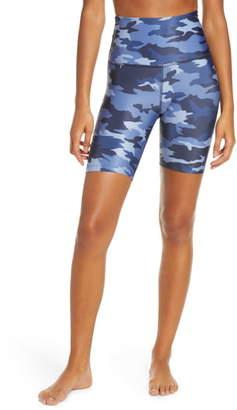 Beyond Yoga Lux Camo High Waist Biker Shorts