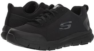 Skechers Comfort Flex SR - HC (Black) Women's Shoes