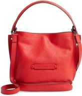 Longchamp 3D Leather Crossbody Hobo