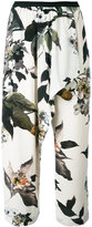 Antonio Marras floral print trousers