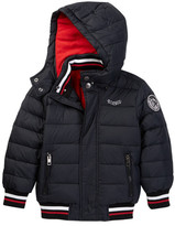 Diesel Hooded Bubble Down Jacket (Toddler Boys)