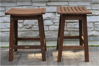 Outdoor Interiors Set Of 2 Counter Stools