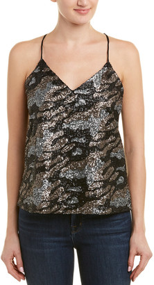 Lavender Brown Camo Sequin Tank