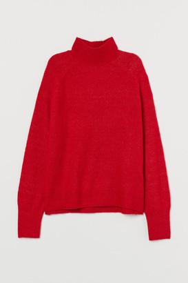 H&M Fine-knit turtleneck jumper