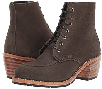 Red Wing Shoes Clara (Pewter Acampo) Women's Lace-up Boots