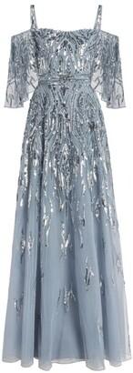 ZUHAIR MURAD Sequin-Embellished Chimera Dress