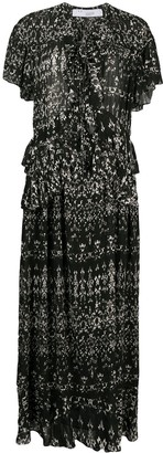 IRO Planty abstract-print dress