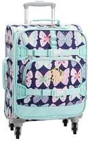 Pottery Barn Kids Mackenzie Navy/Aqua Preppy Butterflies Backpack
