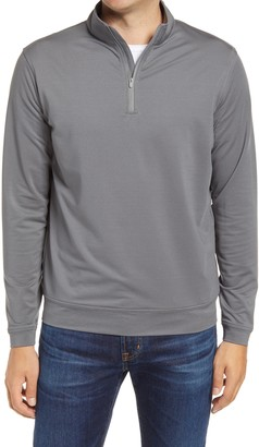 Peter Millar Perth Melange Quarter Zip Performance Pullover