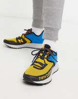 New Balance Running Trail Roav sneakers in yellow