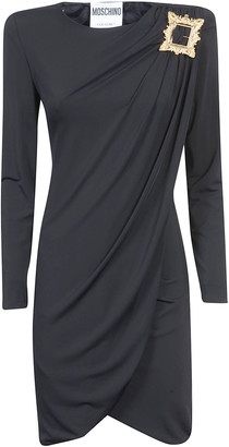 Moschino Draped Mid-length Dress