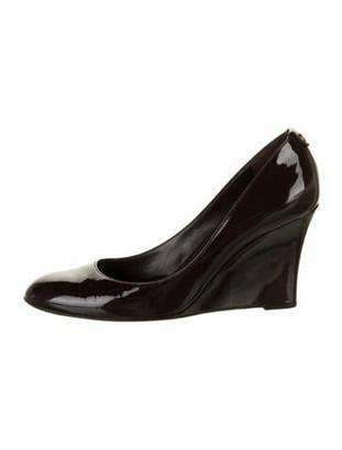 Gucci Patent Leather Pumps Brown