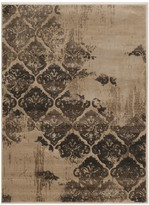 Linon Jewel Vintage Distress Rug