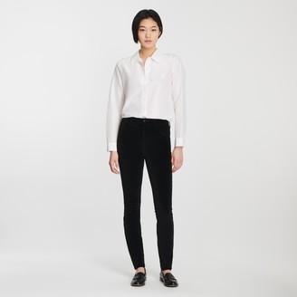 J Brand Maria High-Rise Skinny In Velvet