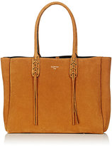 Lanvin Women's Tasseled-Handle Small Shopper Tote