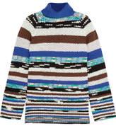Missoni Striped Wool-blend Turtleneck Sweater