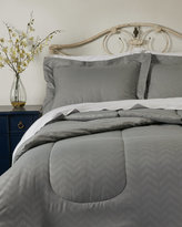 Joseph Abboud 3-Piece Full/Queen Chevron Comforter Set