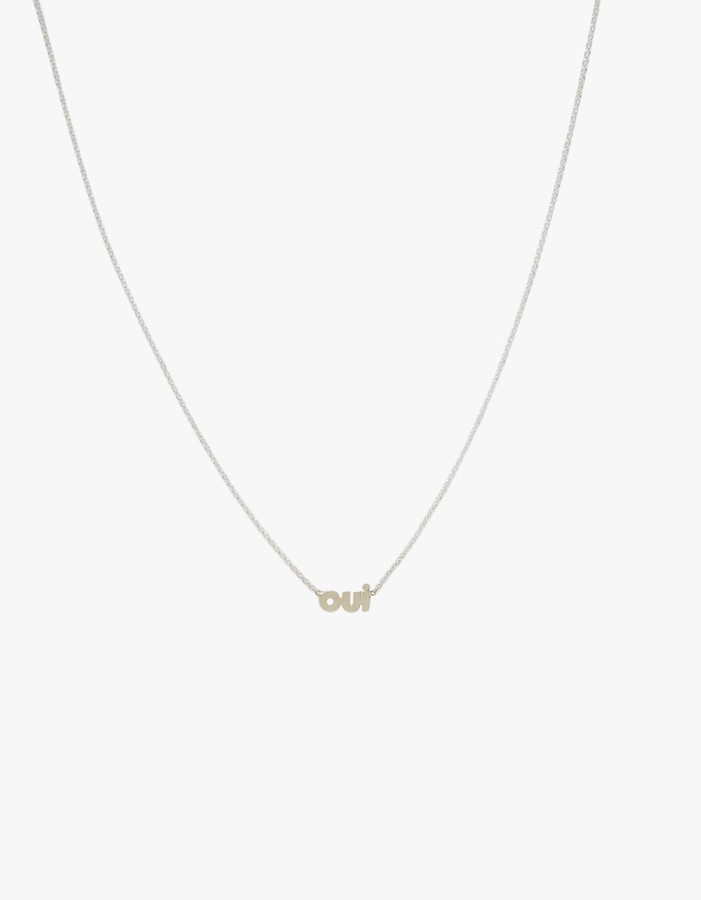 In God We Trust Oui Necklace