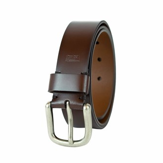 Levi's Men's Double Row Stitched Leather Belt