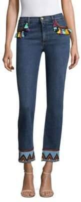 Etro Tassel Denim Jeans