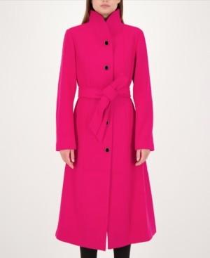 Kate Spade Maxi Stand-Collar Coat