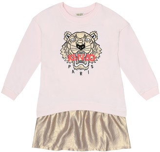 Kenzo Kids Logo cotton sweater