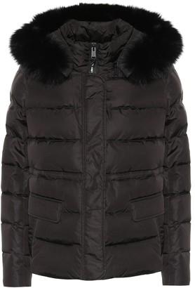 Yves Salomon Army fur-trimmed down jacket