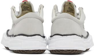 Miharayasuhiro Grey Suede Original Sneakers