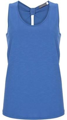 Mint Velvet Azure Blue Knot Back Vest